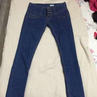 牛仔褲深藍