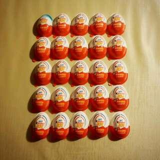 25顆蛋 玩具 小小兵 健達出奇蛋