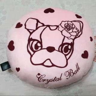 🐰🐣🐶💕💕Crystal Ball 粉紅短毛茸抱枕🐥🐘🐳