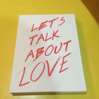 Seungri Let's Talk About Love