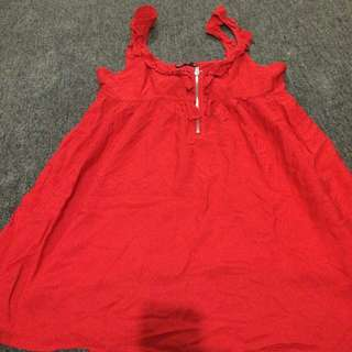 Red Fusion Dress