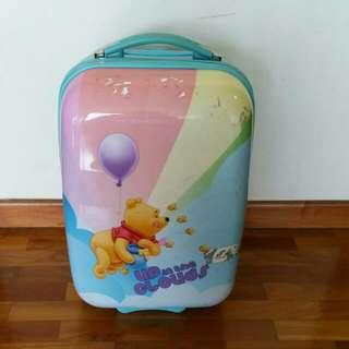 Preloved Winnie The Pooh Disney Kids Luggage