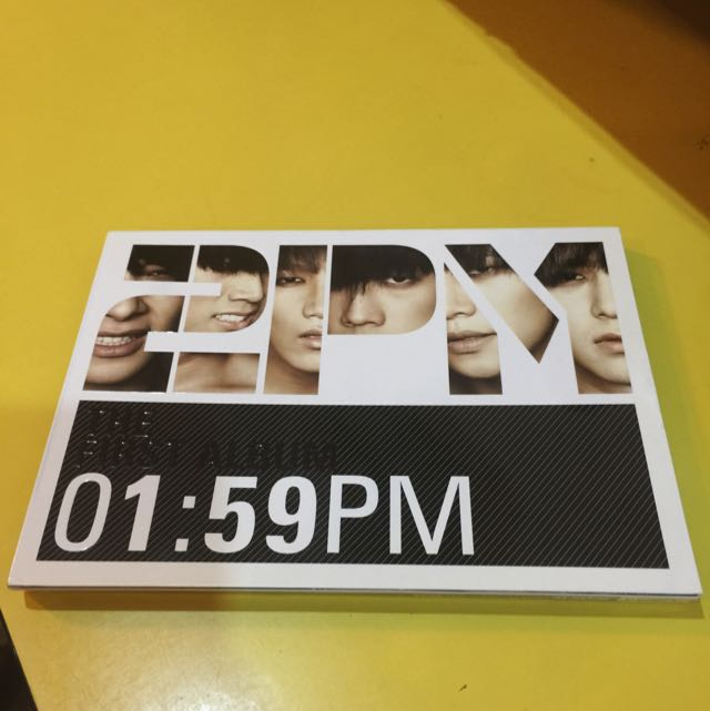 2pm The First Album 01:59