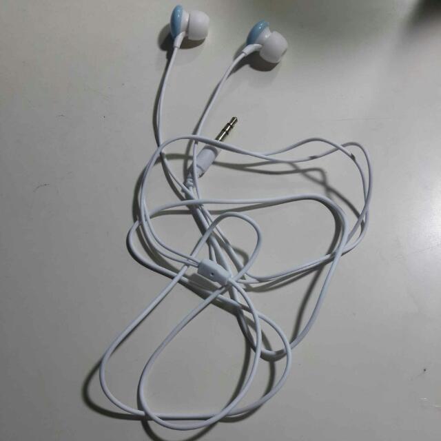 糖果藍耳機