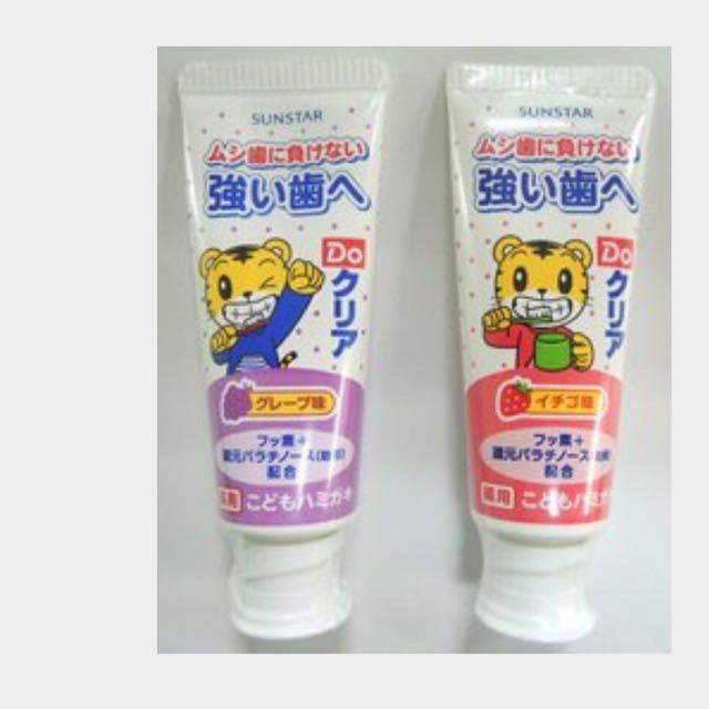 日本巧虎牙膏