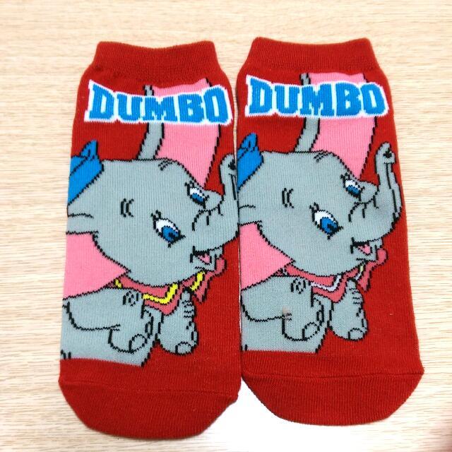 日本  迪士尼  小飛象 襪