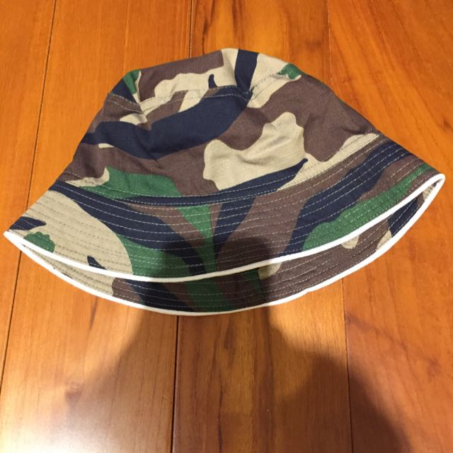 降價💸迷彩 漁夫帽 挺立 不易皺