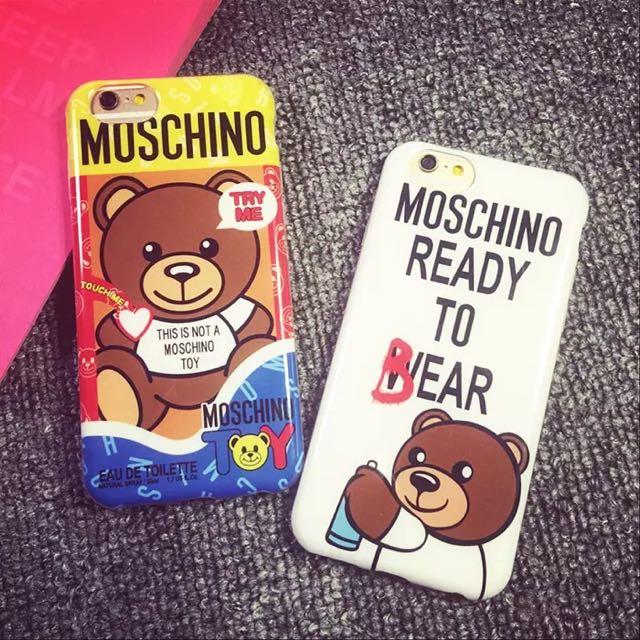 泰迪熊 iPhone 手機殼