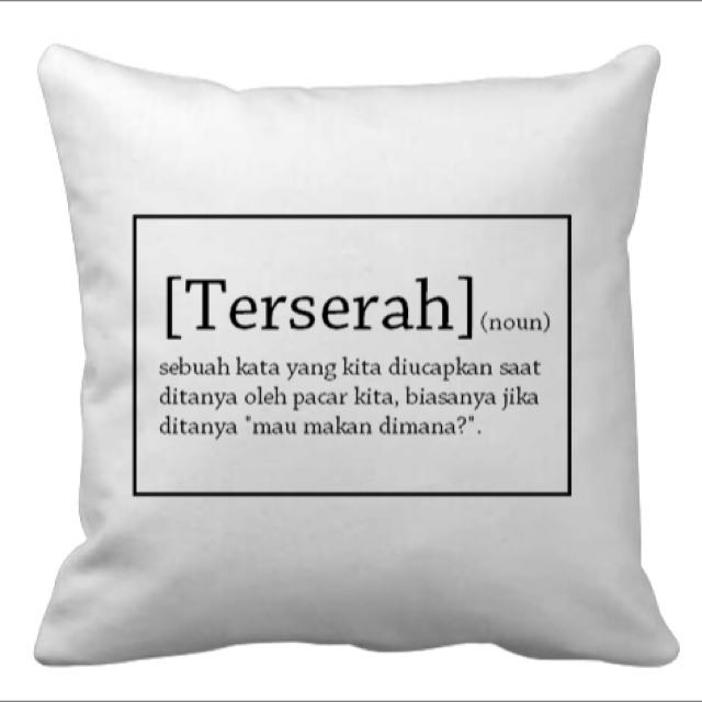 Sarung Bantal Sofa Quotes Home Furniture On Carousell