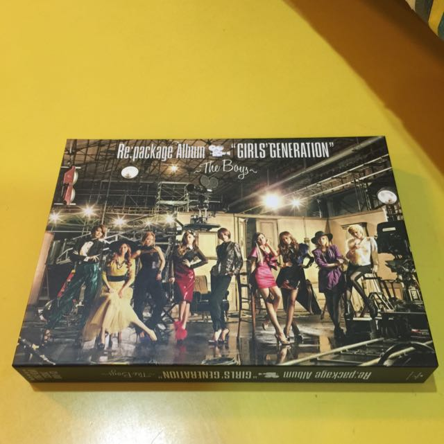 GG The Boys Repackage Album