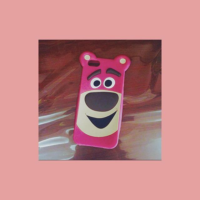 Iphone5/5s熊豹哥軟殼🐻