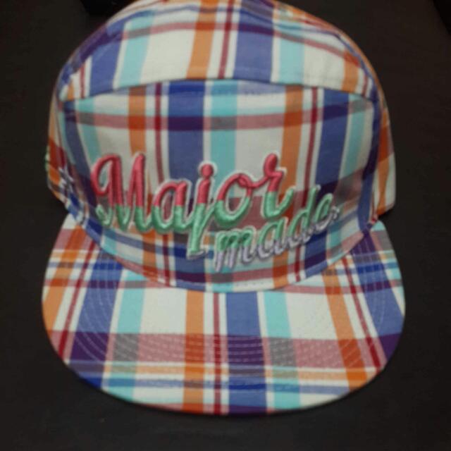 Major 格子帽