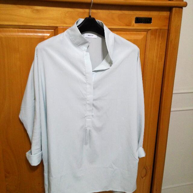 STARMIMI 淺藍綠襯衫