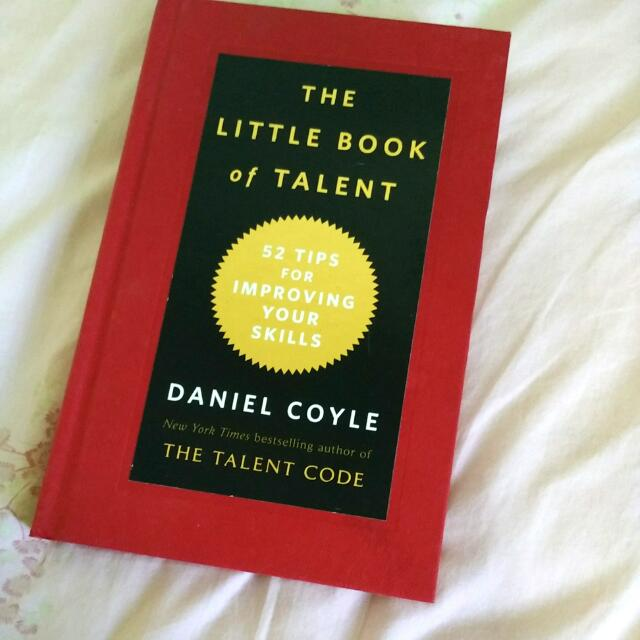 The Little Book Of Talent Books Stationery On Carousell