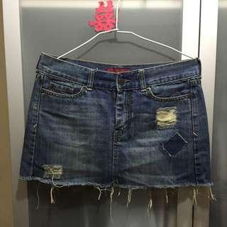 🚚 低腰牛仔短裙