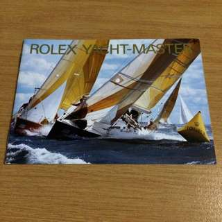 Rolex Yacht Master Manual/Booklet