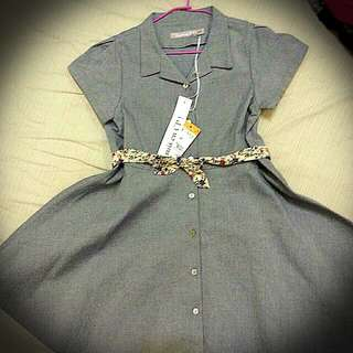Trussardi 女童氣質洋裝