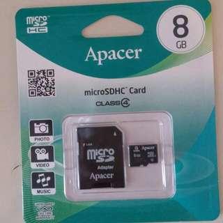 8GB 記憶卡