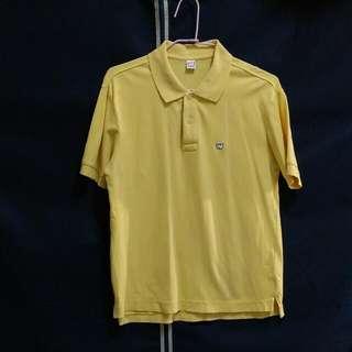 Wally Warp芒果黃短袖polo衫(男生S號)