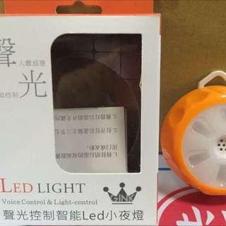 聲光控制LED智能小夜燈