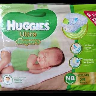 Brand New Huggies Newborn Diaper
