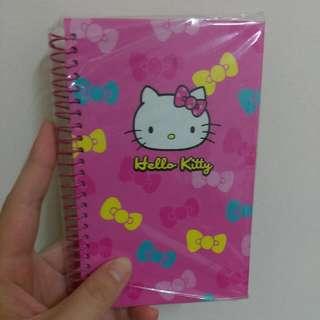 hello kitty週計畫本 記事本