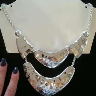 Lovisa Silver Chunky Statement Necklace - Never Worn