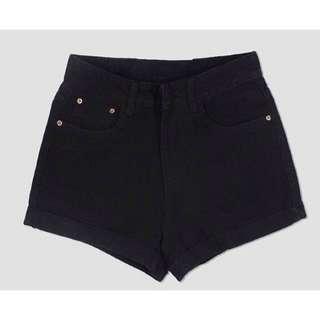 ✨CLEARANCE Black Highwaist Shorts