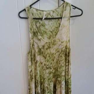 Flowy Sleeveless Dress Size 12 (Fits 10-12)