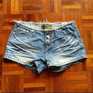 Denim Shorts - ROMP sized M REDUCED