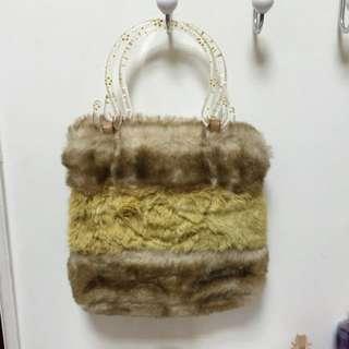 毛毛時尚包包