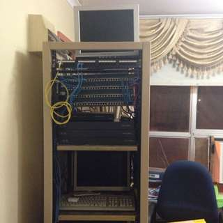 Switches , Routers, CCTV  Comers , Server Rack