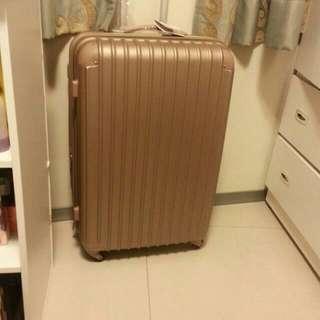 (全新)28吋行李箱 香檳金/天空藍/藍紫色