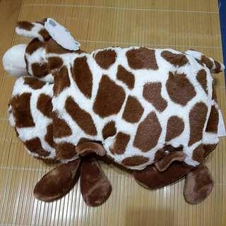 長頸鹿 舒服絨毛毯子