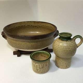 日本伊賀燒陶鍋