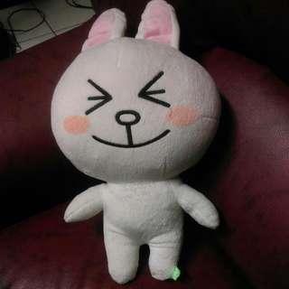 《LINE》兔兔玩偶
