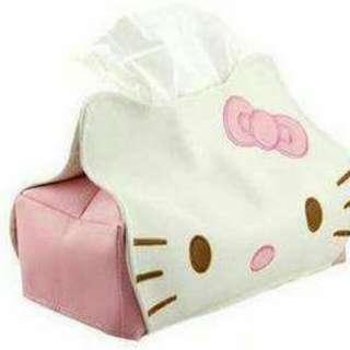 Kitty 皮革面紙套