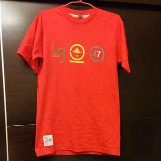 LRG 紅色 T