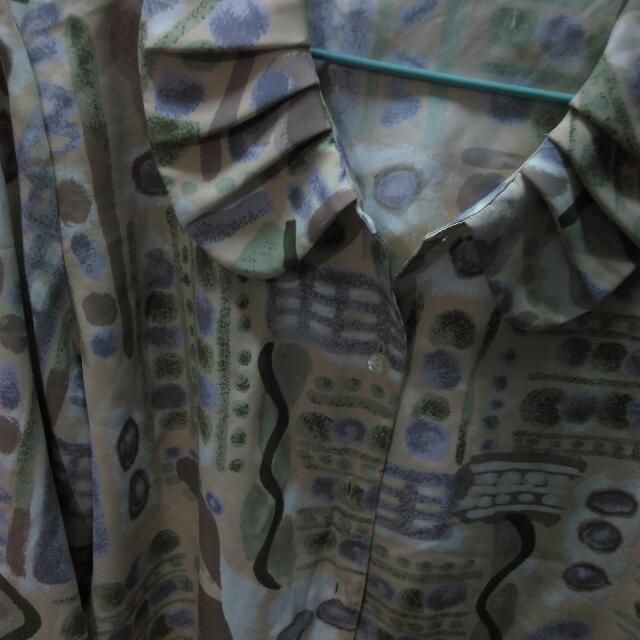 古著襯衫因為轉換風格所以售出