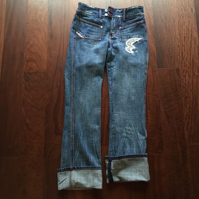 水鑽牛仔褲