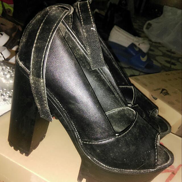 (全新)厚底高跟鞋