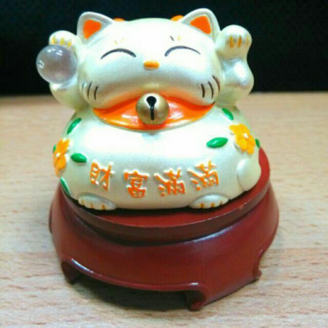 迷你水晶招財貓 5.5*5.5*5.2cm整組出售