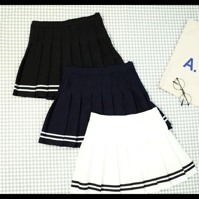 韓版 百摺裙