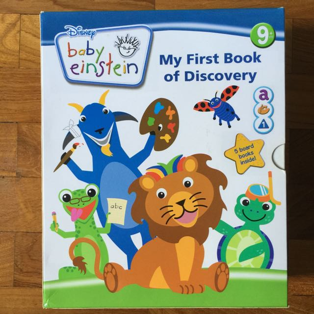 Baby Einstein My First Book Of Discovery (5 Board Books ...