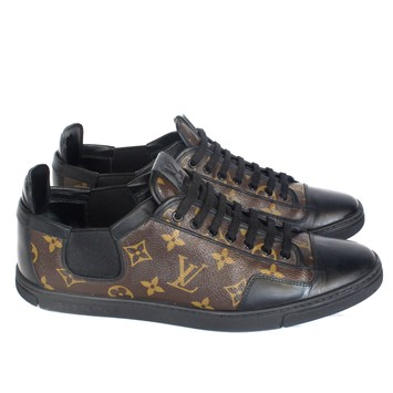 Louis Vuitton Men s Slalom Lv Monogram Leather And Canvas - Brown Athletic  Shoes, Luxury on Carousell 15d735d3df4