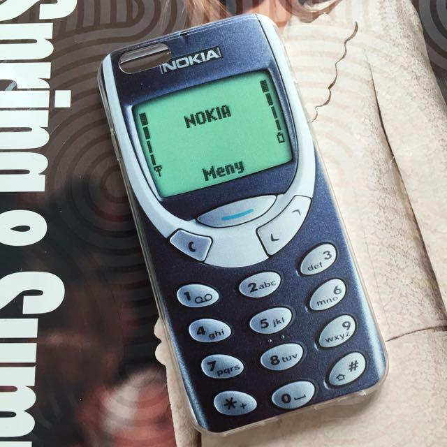 official photos b10fa b923a Nokia 3310 Design iPhone Case