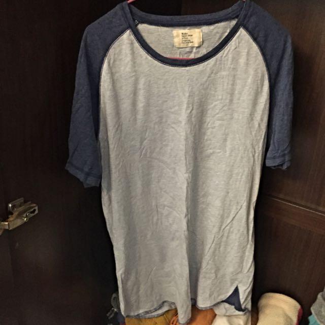 日本購回-撞色棉質T