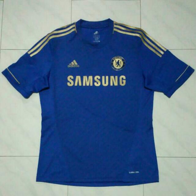 brand new 42e86 0ce19 Authentic & Official Gold Chelsea 12/13 Jersey, Men's ...