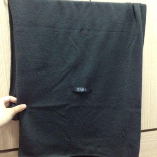 ZARA薄型圍巾