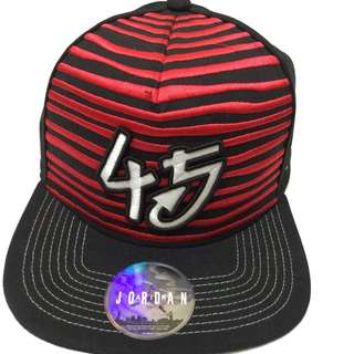 Air Jordan 45號  AJ10代概念設計 Jordan Brand 可調整棒球帽 尺寸F